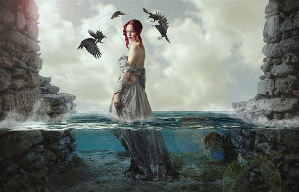 Sea Mermaid Photo Manipulation