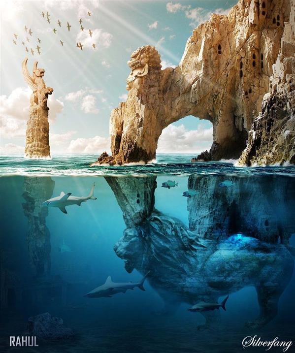 The Sunken Kingdom Underwater Matte Painting