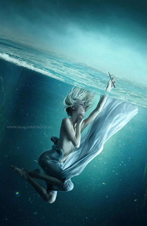 Underwater Religious Photoshop Manipulation