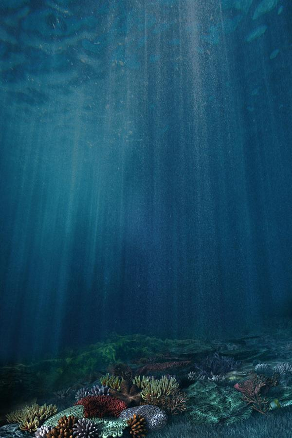 Premade Background Under Water