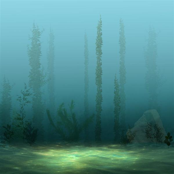 Underwater Premade Background for Photo Manipulations