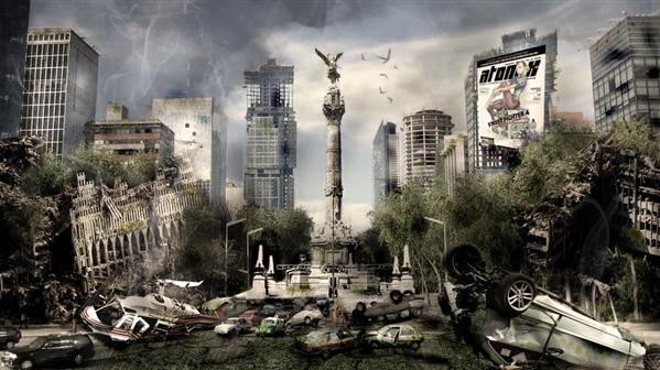 Mexico Post Apocalyptic Photo Manipulation