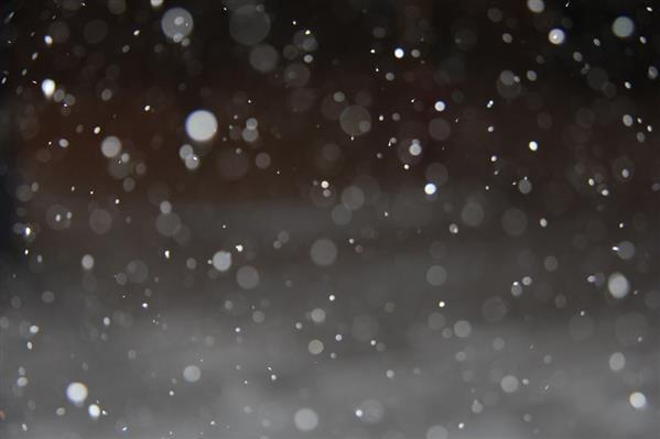 Beautiful Snow Bokeh Effect