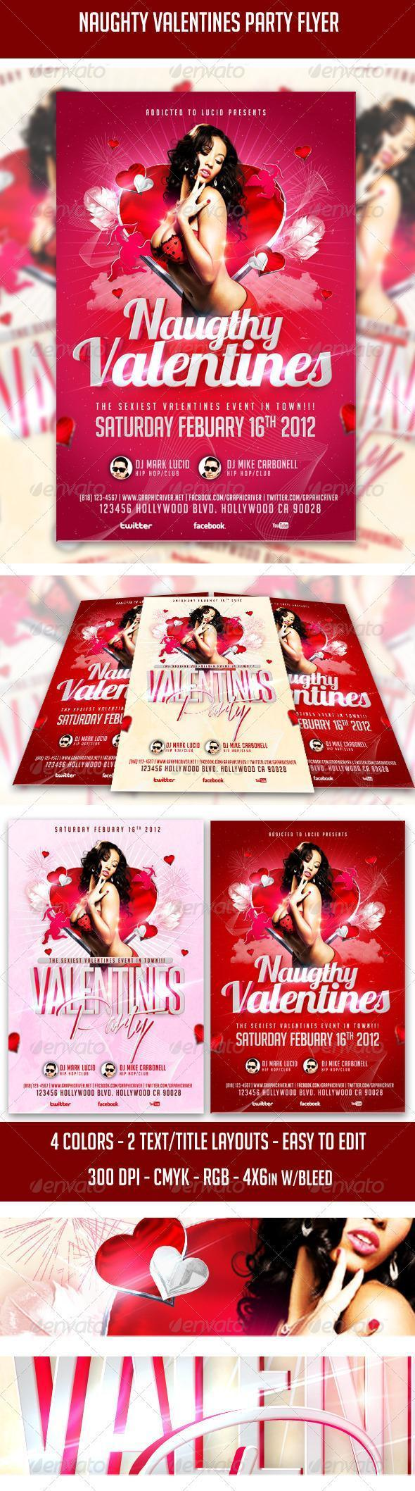 Valentine Party Template