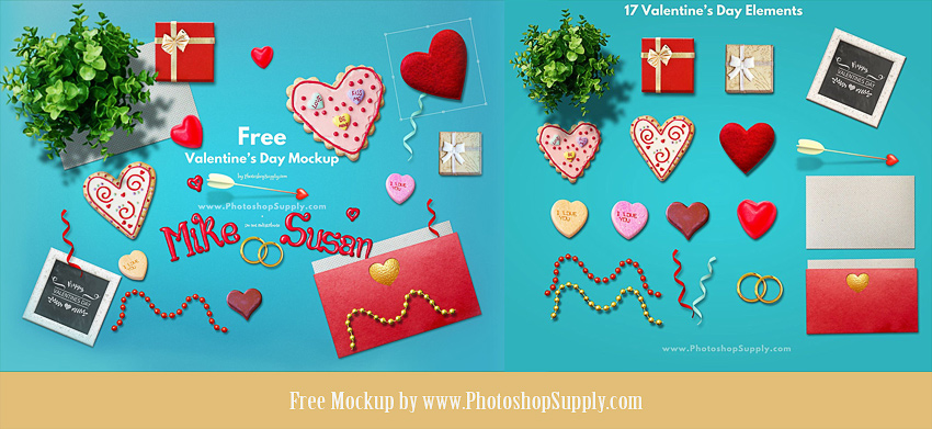 Valentines Background Maker