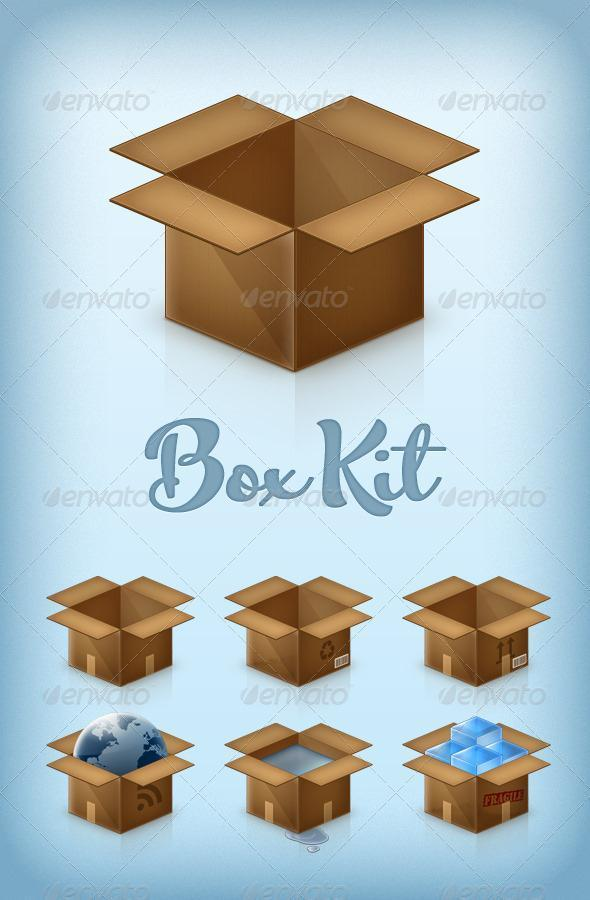 Box Kit Premium PSD