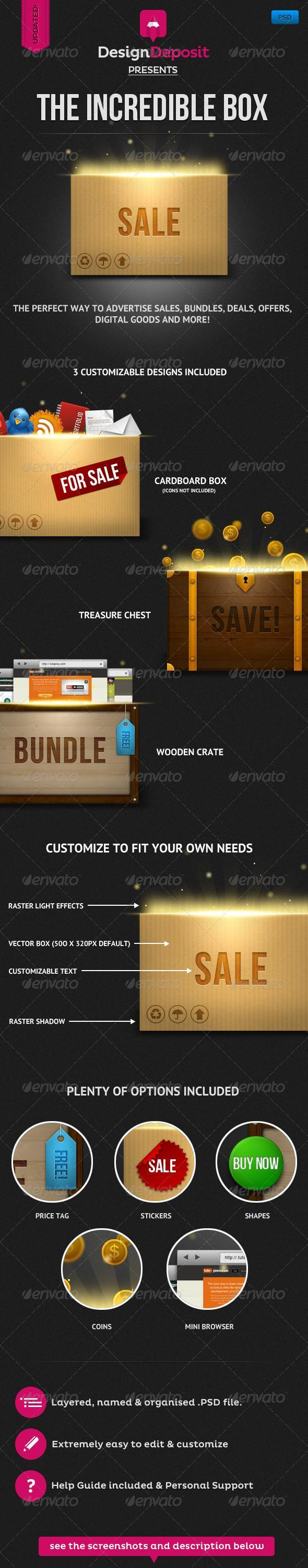 Magic Box PSD Premium File