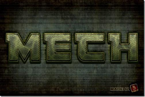 Create a Mech-Inspired Text Effect in Photoshop