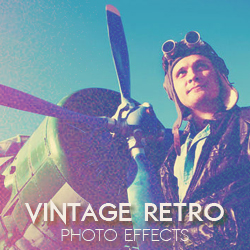 Vintage Retro Photo Effects Photoshop Actions psd-dude.com Resources