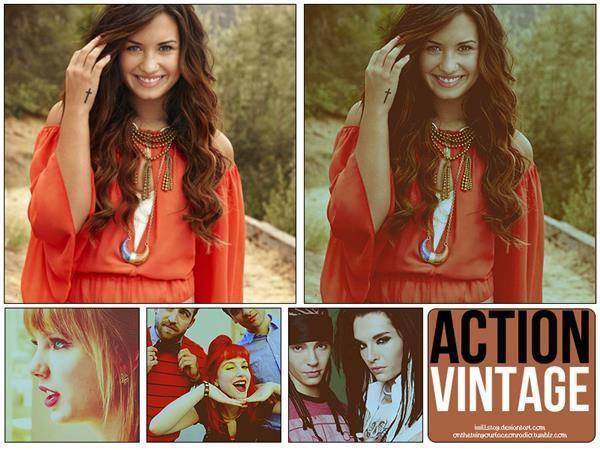 Action Vintage Photo Effects