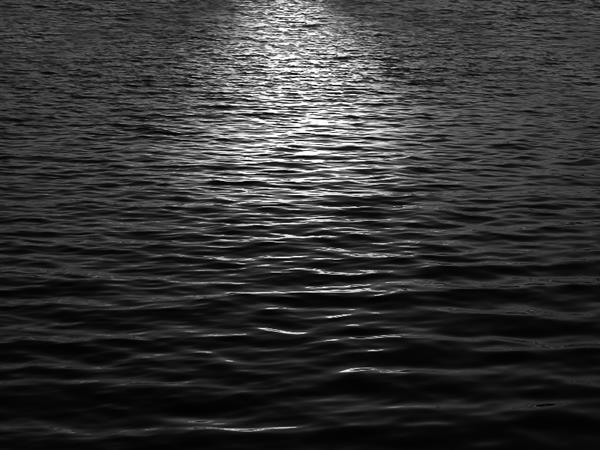 Moonlight Black Water Texture Free Background