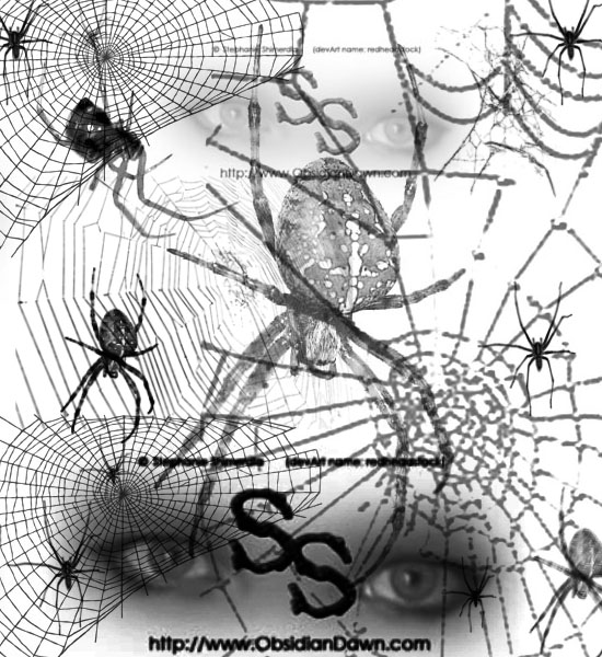 Cobwebs Photoshop Brushes For Halloween