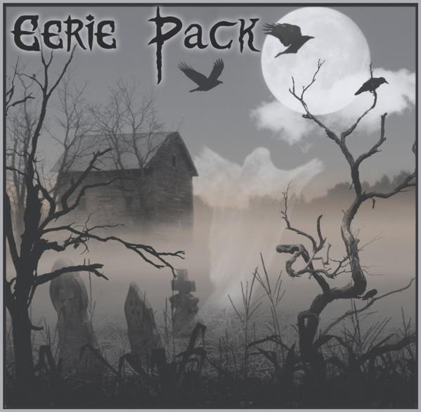Eerie Halloween Photoshop Brush Pack