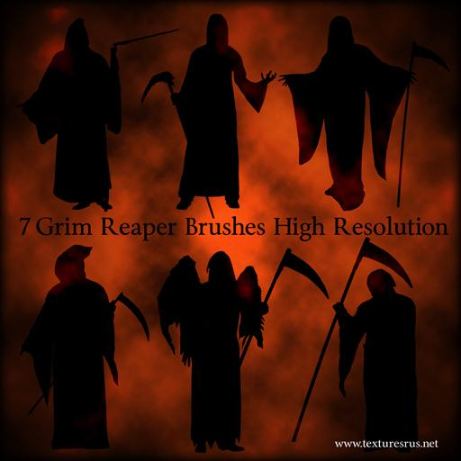 Grim Reaper Brushes For Photoshop