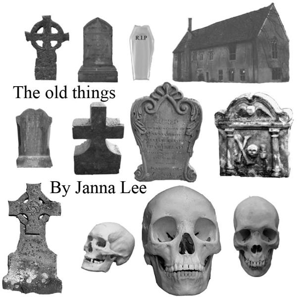 Grave And Tombstones Photoshop Brushes For Halloween