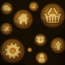 <span class='searchHighlight'>Wood</span> Web Icons psd-dude.com Resources