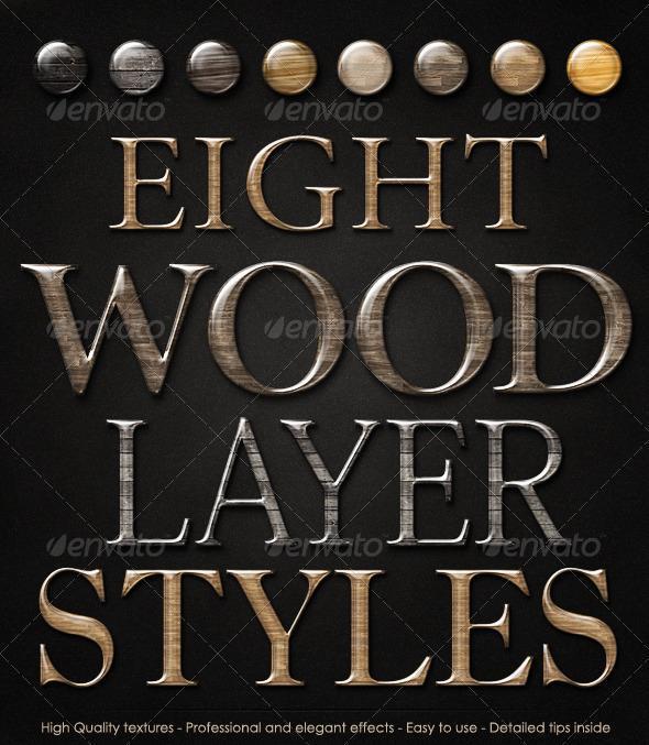 Elegant Wood Layer Styles