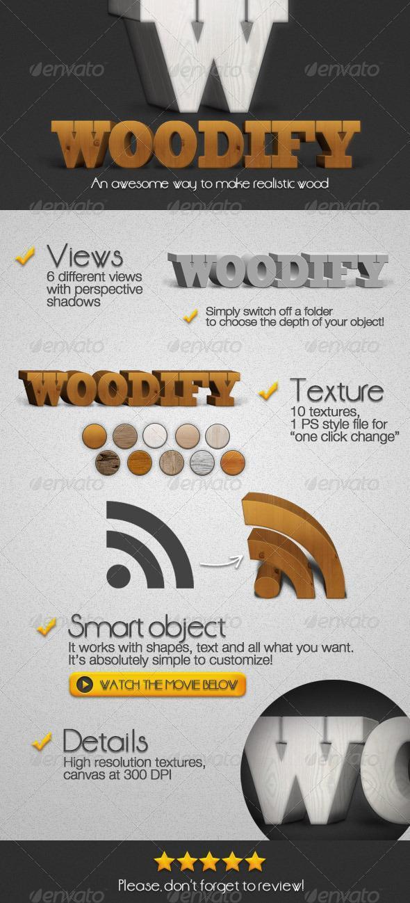 Woodify Realistic 3D Wood Creator