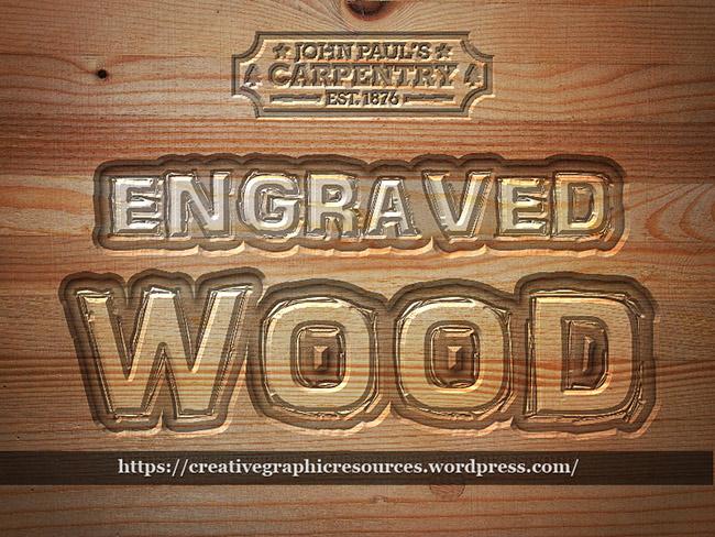 Wood Text Photoshop Tutorials | PSDDude