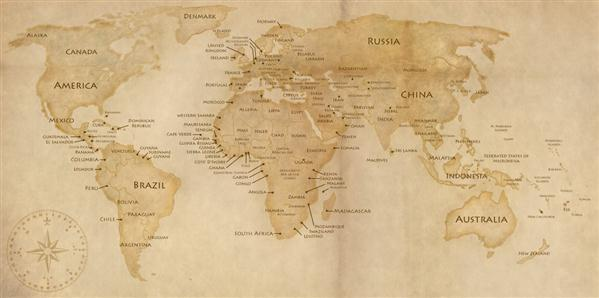 World map psd and eps ai vector free download psddude old world map psd gumiabroncs Image collections