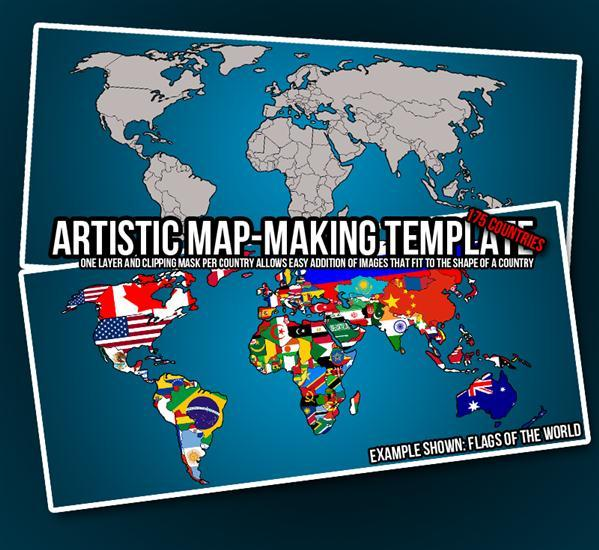 World map psd and eps ai vector free download psddude world map template psd sciox Choice Image