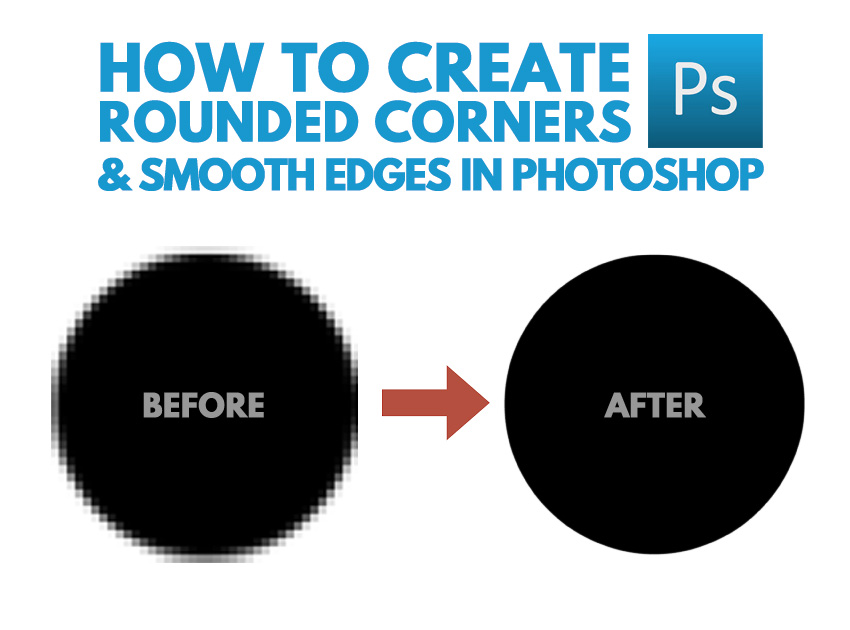 how to create rounded corners in Photoshop