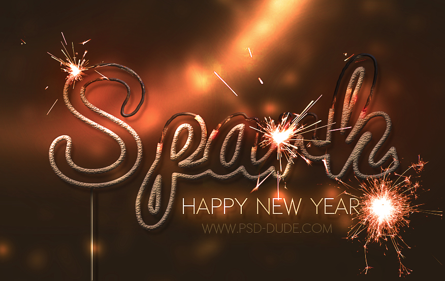 Sparkler Light Text Effect Photoshop Tutorial - Photoshop ...