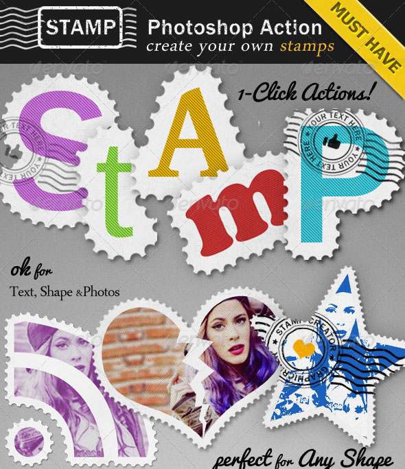Stamp Creator Photoshop