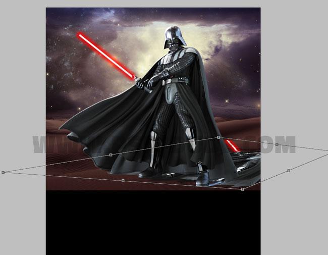 Star Wars Movie Poster Photoshop Tutorial - Photoshop