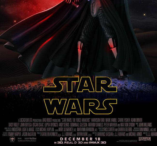 Star Wars Movie Poster Photoshop Tutorial - Photoshop ...