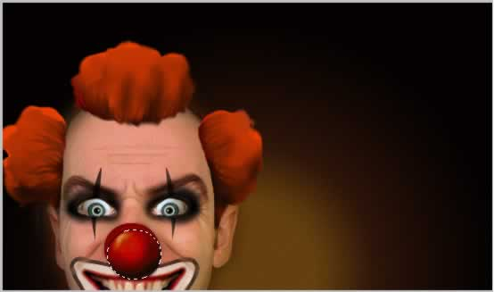 the-mad-horror-clown tutorial intermediary image