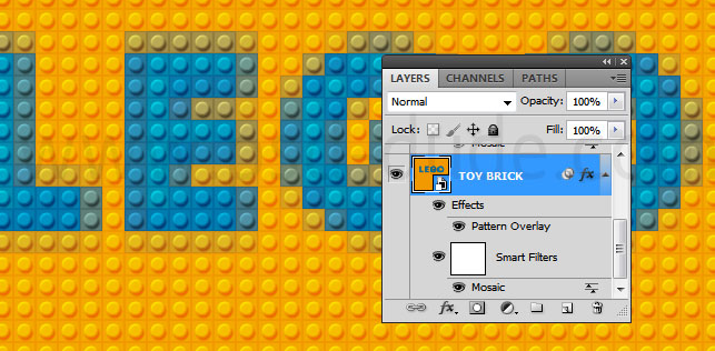 Toybricks Lego Text Effect Photoshop Tutorial - Photoshop tutorial ...