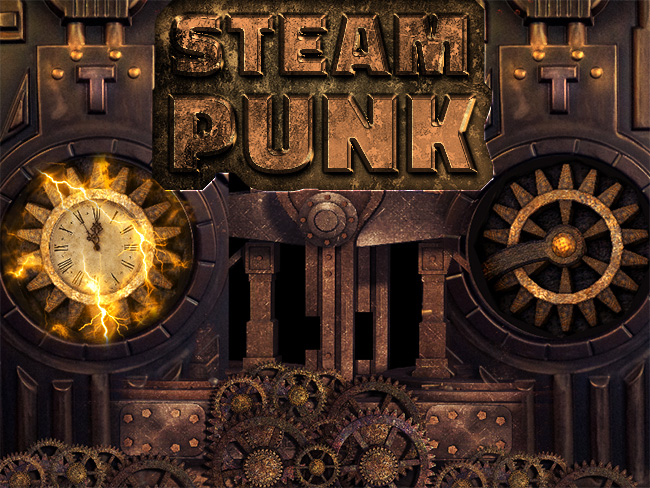 steampunk text effect photoshop tutorial