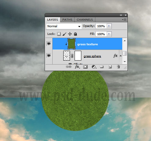 how to duplicate and add grass photoshop