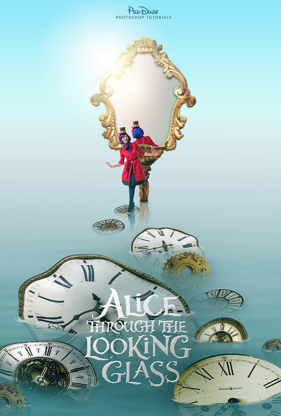 Alice Through the Looking Glass Photoshop Tutorial - Photoshop tutorial | PSDDude