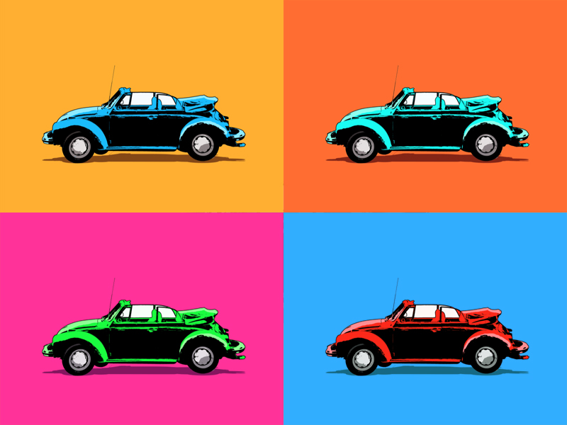 How to Make a Car Illustration in Photoshop