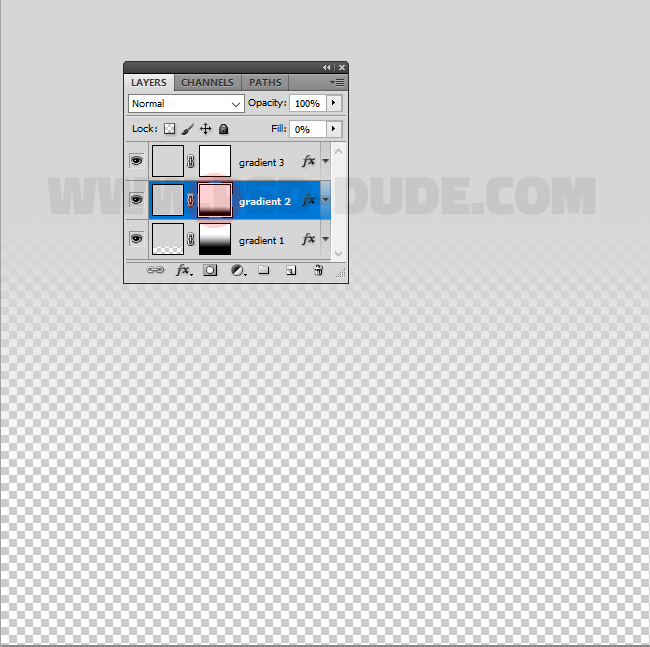 layer mask gradient in photoshop