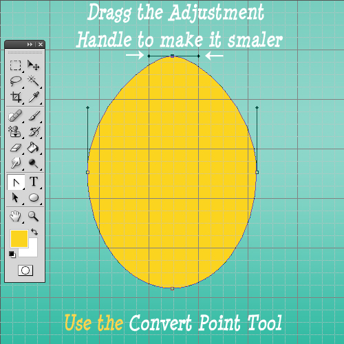 How To Make Pointy Egg Shape In Photoshop