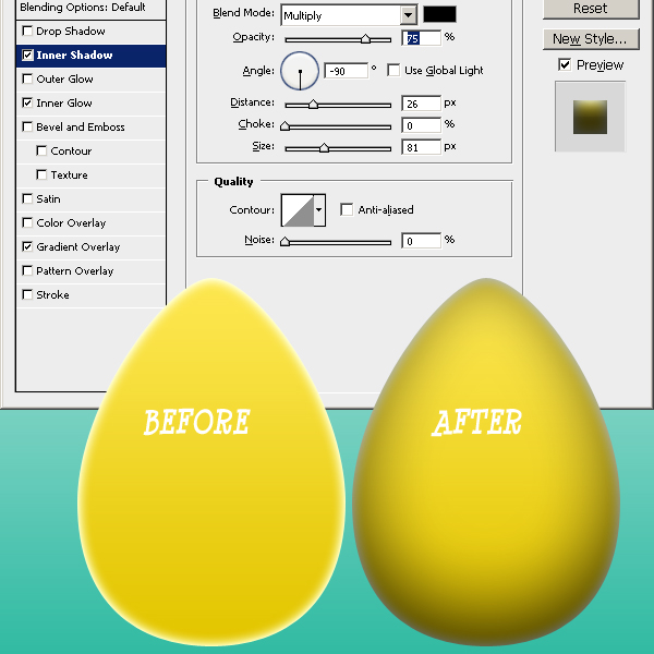 How To Create A 3D Egg Shape In Photoshop