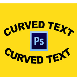 How To Curve Text In Photoshop psd-dude.com Tutorials