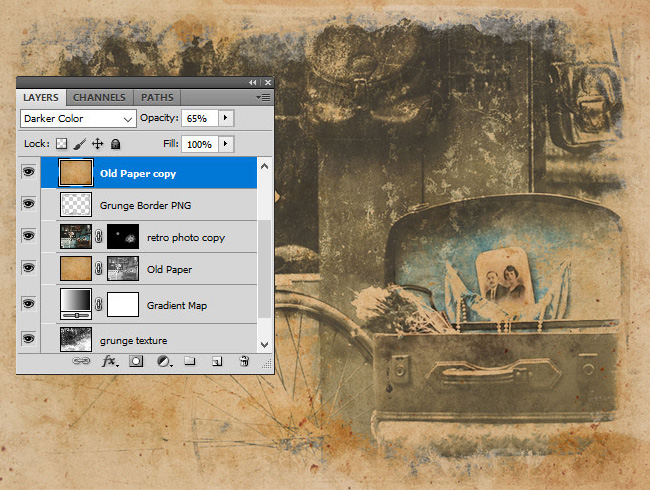 How to Create a Retro Grainy Film Effect in Photoshop ...