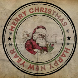 Create a Christmas Rubber Stamp in Photoshop