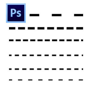 Dashed Line Photoshop psd-dude.com Tutorials