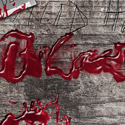 Dripping Blood Text Effect in Photoshop psd-dude.com Tutorials