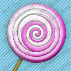 Create a Lollipop Candy in Photoshop psd-dude.com Tutorials
