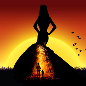 Silhouette Photoshop psd-dude.com Tutorials