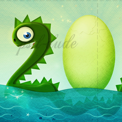 2012 Year of The Water Dragon Wallpaper in Photoshop psd-dude.com Tutorials