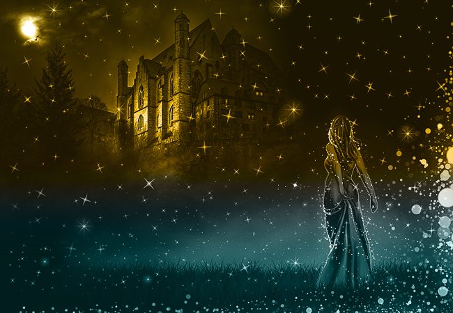 magic sparkle fairy tale photoshop tutorial