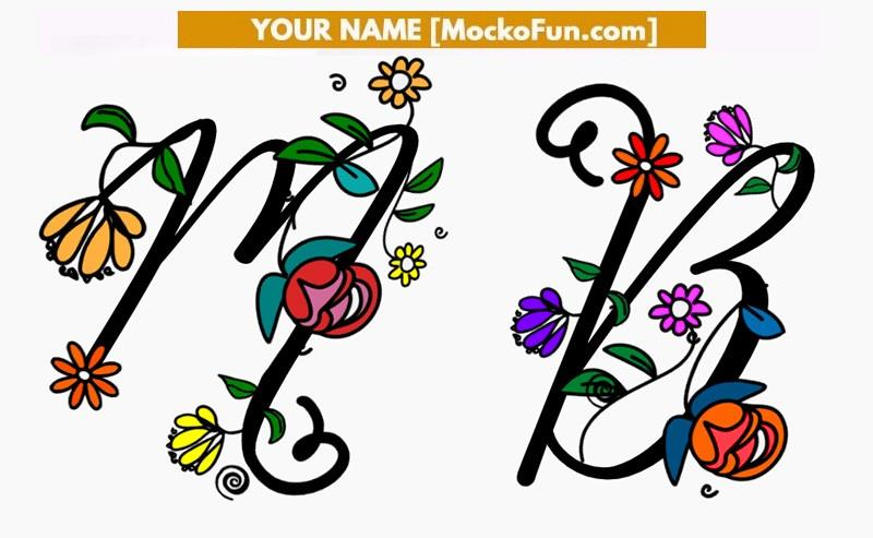 Name Art Letters