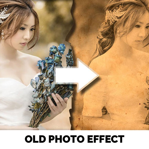 Old Photo Effect Online psd-dude.com Tutorials